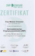 Melanie_Driesener_Pruefung_Zahnmedizinische_Prophylaxeassistentin_2017