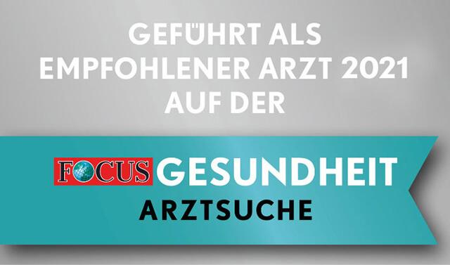 Focus Regiosiegel 2021 Zahnarzt Berlin