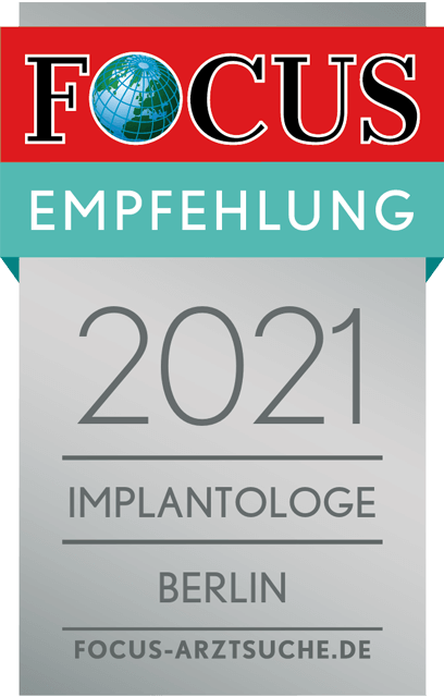 Focus Regiosiegel 2021 Implantologe Berlin
